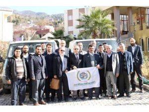 Düziçi'nden Bayır-bucak Türkmenlerine UN Yardımı