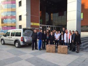 Kültür Koleji Öğrencilerinden Bayır Bucak Türklerine Yardım