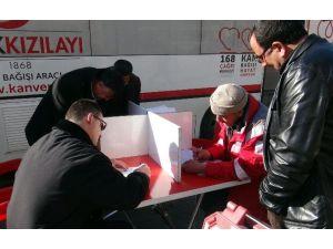 Tatvan'da Kan Bağışı