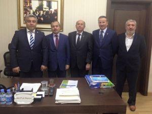 Hisarcık Heyeti'nden Müsteşar Yardımcısı Kocapınar'a Ziyaret