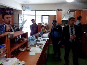 Alaşehir'de Kantinler Denetlendi