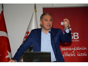 AOSB Başkanı Sütcü: Eğitim sanayici için de vazgeçilmezdir