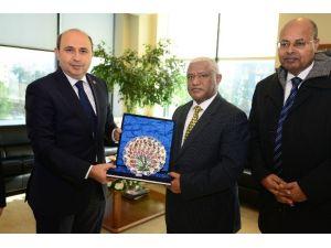 Etiyopya Büyükelçisi BTSO'da