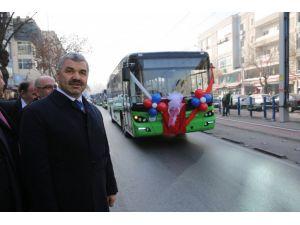 Kayseri'de 24 yolcu otobüsü hizmete girdi