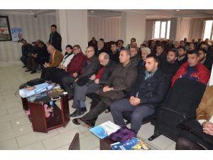 CHP Muş İl Başkanı İsmail Adanur, Güven Tazeledi