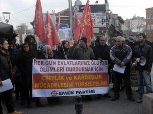 Emek Partisi'nden Çatışmaların Sona Ermesi Eylemi