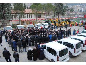 Amasya Belediyesi Filosuna 32 Araç Kattı