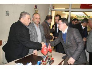 AK Parti Yozgat Milletvekili Yusuf Başer'den Muhtarlar Derneğine Ziyaret