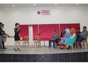 Tosya Meslek Yüksekokulu Öğrencileri Yeteneklerini Sergiledi