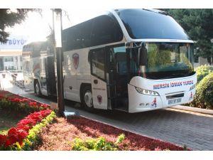 Mersin İdmanyurdu'nda futbolcular Bursa'ya gitmedi