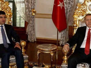 Cumhurbaşkanı Erdoğan, IKBY Başbakanı Barzani ile görüştü