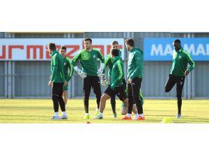 Bursaspor, Mersin İdmanyurdu hazırlıklarını tamamladı