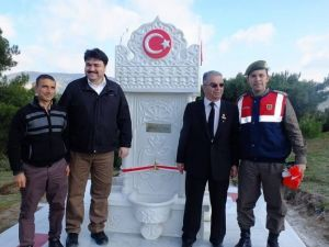 Şehit Babası, Kocaseyit Anıtına Çeşme Yaptırdı