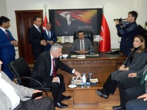Bakan Tüfenkci, Doğanşehir İlçesini Ziyaret Etti