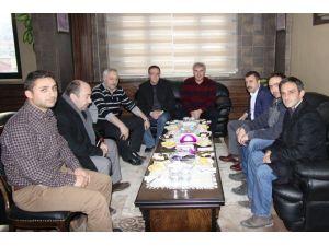Milletvekili Kavcıoğlu'ndan Belediye Başkanı Memiş'e Ziyaret