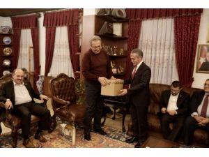 Nevbiad Yöneticilerinden Belediye Başkanı Ünver'e Ziyaret