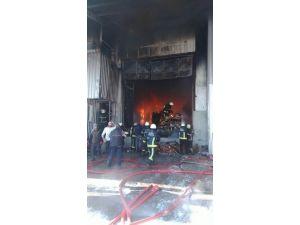 Bursa'da Büyük Fabrika Yangın...