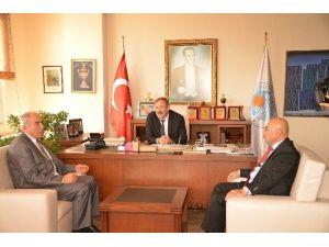 Fazıl Türk'e Destek Ziyaretleri