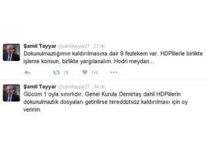 AK Partili Vekilden Demirtaş'a Hodri Meydan