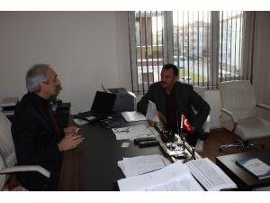 AK Partili Yarımdağ'dan İŞKUR'a Ziyaret