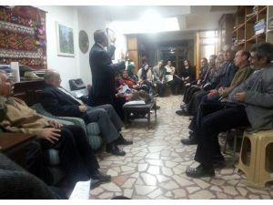 Eskişehir Kubat Kültür Evinde Şiir Etkinliği