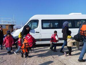 Ayvalık'ta Suriyeli 60 Sığınmacı Yakalandı