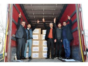 BBP Kırkağaç Teşkilatından Türkmenlere Yardım