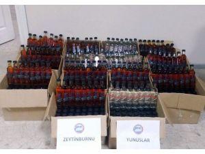 Zeytinburnu'nda 700 Şişe Sahte İçki Ele Geçirildi