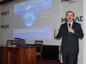 MÜSİAD Konya Şubesi'nde Ekonomi Ve Finans Sistemi Ele Alındı