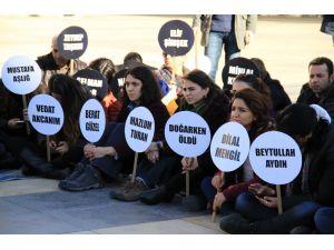 Avukatlar ve doktorlar, Güneydoğu'da öldürülen çocuklar için eylem yaptı
