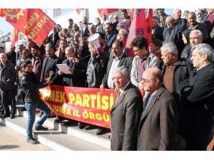 EMEP, Sokağa Çıkma Yasağıyla İlgili Basın Açıklaması Yaptı