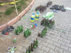 150 Molotof Bombası Ele Geçirildi
