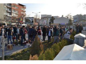 Açıklama Yapan HDP'li Gruba Vatandaşlardan Tepki