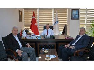 Şişli Belediyesi Meclis Başkan Vekili Çakır'dan Teski Genel Müdürü Başa'ya Ziyaret