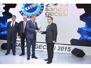 KAYSO Sanayi Gecesinde Kayseri Şeker'e İki Ödül