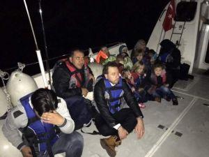 Antalya'da 34 Kaçak Göçmen Yakalandı
