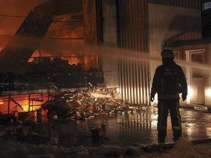 Bursa'da iplik fabrikasındaki yangın kontrol altına alındı