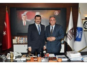 Kardeş Mamuşa Belediye Başkanı, Keçiören Belediye Başkanı AK'ı Ziyaret Etti