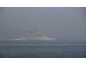 İki Rus Askeri Gemisi Çanakkale Boğazı'ndan Geçti
