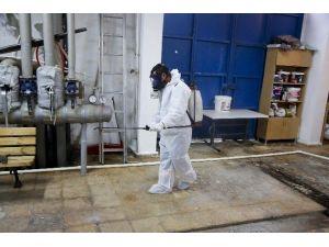Maltepe'deki Okullarda Hastalıklara Karşı Temizlik Önlemi
