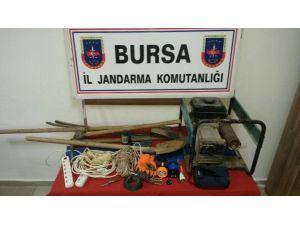 Bursa'da Kaçak Define Avcılarına Suçüstü
