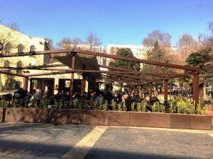 Fevziye Çay Bahçesine Yeni Görünüm