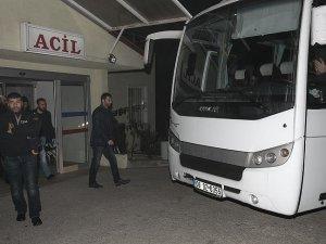 Ankara merkezli operasyonda 21 şüpheli sağlık kontrolünden geçirildi