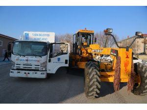 Tuşba Belediyesi'nden Araç Yenileme Çalışması