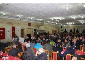 Başkan Karaaslan, Uçhisarlılara hizmetlerini anlattı