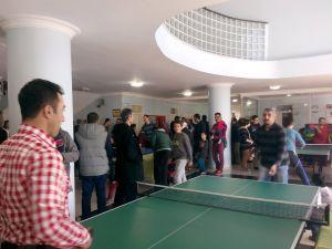 Veliler arası masa tenisi turnuvası düzenlendi