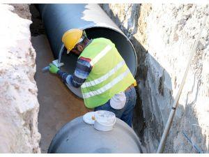 Antakya ve Defne'de içme suyu hattı yenileniyor