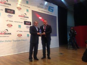 Görele Belediye Başkanı Tolga Erener'e Hizmet Ödülü