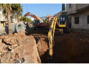 Kozan'daki yağmur suyu projesinin 2. etabı yarılandı