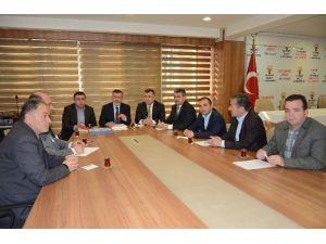 Bölge Koordinatör Milletvekilleri Düzce'ye Geldi
